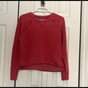 AERIE CROPPED CREW NECK